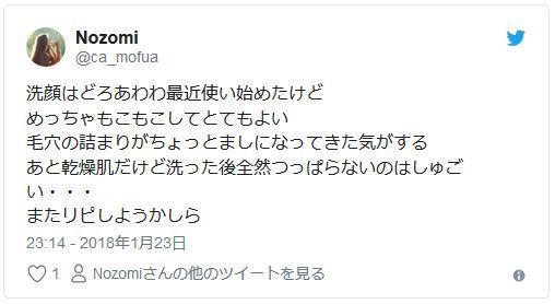 Nozomiさんのツィート