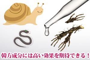 韓国コスメは日本では使われない高い効果を期待できる成分が含まれている