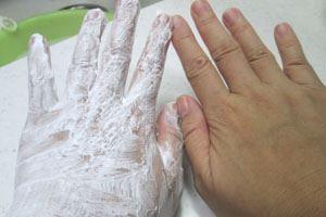 いるじゅらさ美白効果を検証 肌変化画像(前)