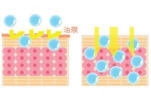 保湿成分が美肌成分の浸透を妨げる可能性