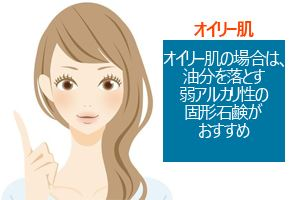オイリー肌(脂性肌)におすすめの洗顔石鹸