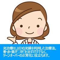 光治療(フォトセラピー)(保険適用外)