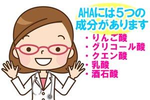 AHA(フルーツ酸)の種類