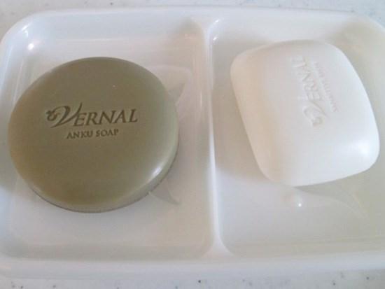 くすみにおすすめの洗顔石鹸ランキング 第1位 ヴァーナル 「W洗顔セット」